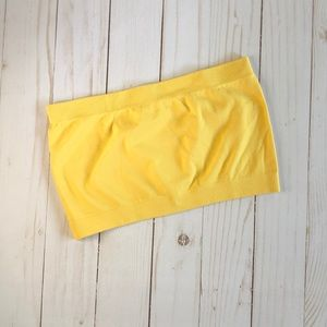 BISOU BISOU yellow bandeau